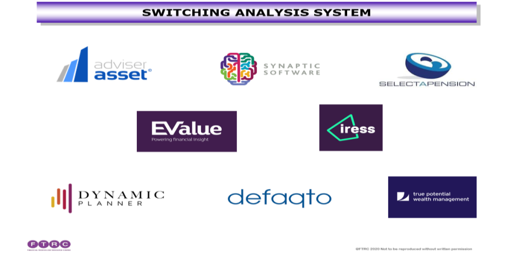 ECOSYSTEMS – SWITCHING ANALYSIS SYSTEM